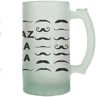 The Crazy Me - Andaz Apna Apna Frosted Beer Mug