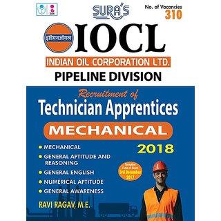 IOCL  ( Pipeline Division ) Technician Apprentices Mechanical Exam Books 2018