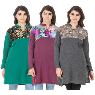 Hardy'S Collection Wollen Kurti For Women