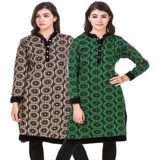 Hardy'S Collection New Multicolored Wollen Kurti