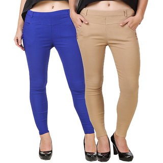 Hardy's Collection Multicolor Jeggings For Women's