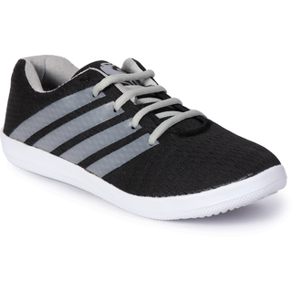 Bostan Black Sports Shoes For Men