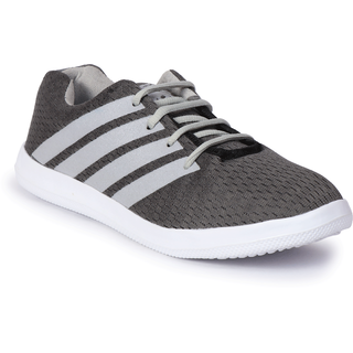 Bostan Grey Sports Shoes For Men