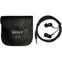 Sony EX-200 Earphones Metal Bass Handsfree stereo Headphones 3.5mm Jack with Mic