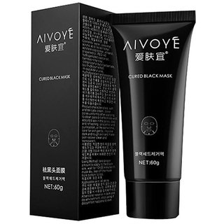 AFY Deep Cleansing Peel Off Black Mud Facial Face Mask Remove Blackhead pigmentation correction removedor de cravo Anne