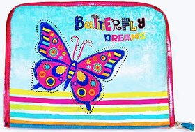 Must Visit Butterfly Image Hair Clip Organizer Folder F