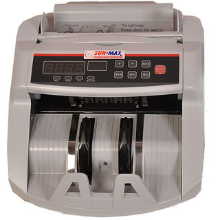 SUNMAX SC 370 Loose Note Counting Machines with Fake Note Detectors