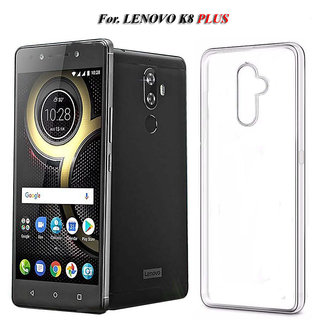 Lenovo K8 Plus  Soft Silicon High Quality Ultra-thin Transparent Back Cover.
