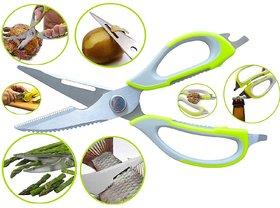 Mighty Shears Clever Cutter Scissors Knife 10-in-1 Mutli-purpose Tool Vegetable Cutter Peeler
