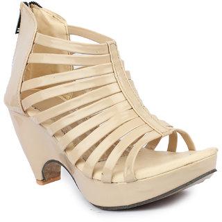 Sinlite Women's Beige heels