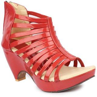 Sinlite Women's Red heels