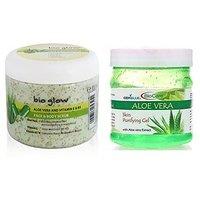 Bio Care Aloevera Gel Scrub  Cream