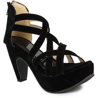 Sinlite Women's Black heels
