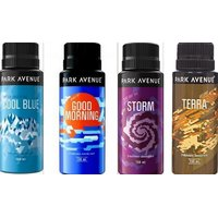 Park Avenue  Deo Spray Combo Pack - 150 Ml (4 Pc)