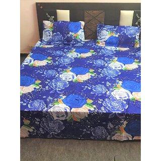 Blue Designer Bedsheet