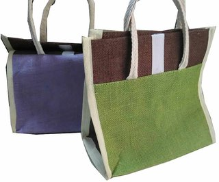 Combo of Jute Bags / Bottle Jute Bag / Lunch Bag