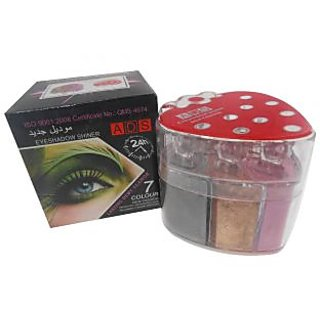 ADS New Fashion Strong Multicolor Eye Shadow Shiner Lasting Dewy Glamor A8073