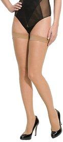 IndiRocks Women Beige Panty Hose Long Comfort Stockings
