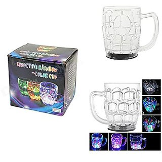 Theme My Party Mug With Disco Led Lights - 350 ML.
