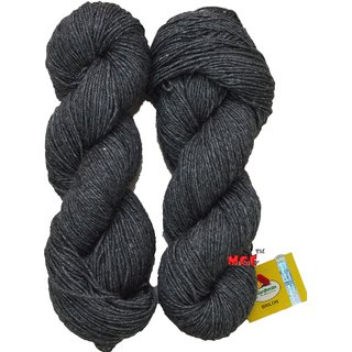 Vardhman Brilon Grey 300 gm hand knitting Soft Acrylic yarn wool thread for Art & craft, Crochet and needle