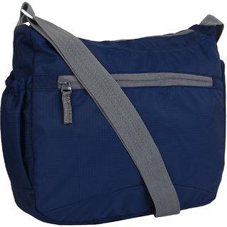 Buy Favria Men Women Polyester Sling Bag- Navy Blue Online - Get 50% Off 8049f653226c2