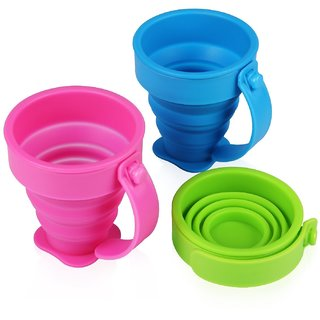 Silicone Collapsible Cup with Handle