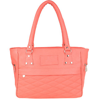 Tarshi Pu PinkShoulder  Bag For Women
