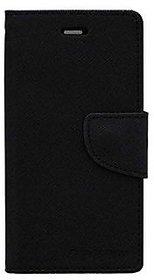 BS Mercury Goospery Fancy Diary Wallet Flip Cover for VIVO Y55S -Black