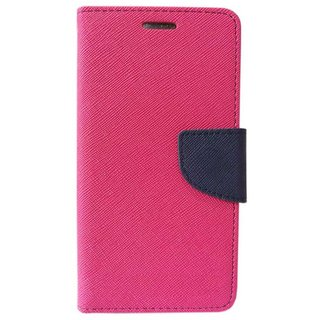 new style a3d68 a99b2 BS Mercury Goospery Fancy Diary Wallet Flip Cover for GIONEE A1 LITE -PINK