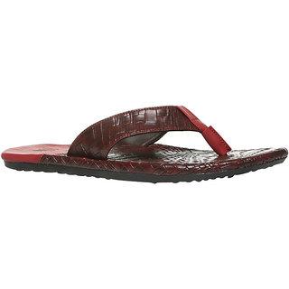 Footin Men's Red Slippers