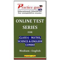Class 6 - Maths, Science & English Combo