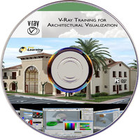 Learn V-Ray For Architectural Visualization On 3Ds Max Video Tutorial Dvd