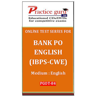 Bank PO English (IBPS-CWE)