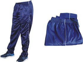 Men's Blue Track Pants Men's Lower