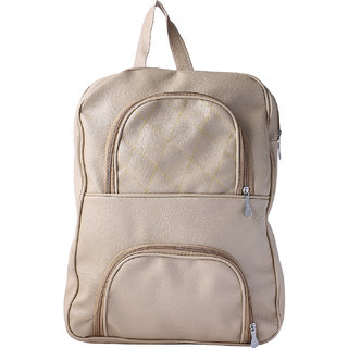 Buy Beige Color Fashionable Trendy Unisex Backpack Casual College Bags  Backpacks Online   ₹459 from ShopClues ac82801cdd17c