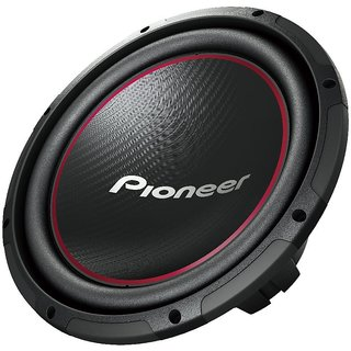 Pioneer TS-W306R 12-Inch Component Subwoofer with 1300 Watts Max Power