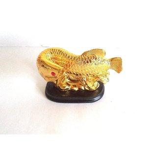 Rebuy Feng Shui Arowana Fish For Wealth (8 cm x 17 cm x 5.5 cm)