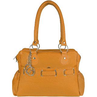Tarshi Pu Tan Shoulder  Bag For Women