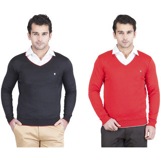 Kristof Men's Multicolor Sweaters
