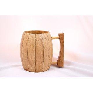 Wooden Vintage Barrel Beer Mug