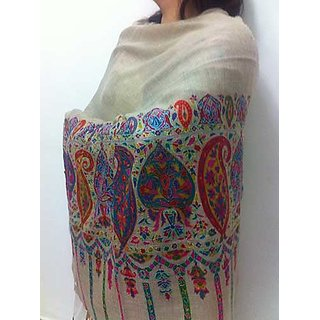 Drapes of Valley  Pure Pashmina Stole (Daisy Collection)