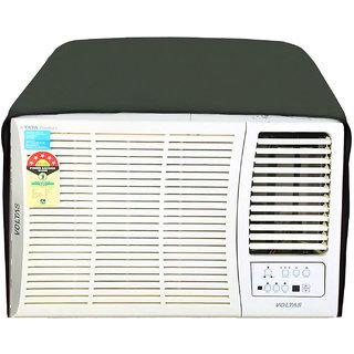 Glassiano Military Colored waterproof and dustproof window ac cover for Hitachi Kaze Plus RAW511KUD 1 Ton 5 Star AC