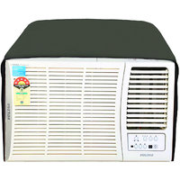 Glassiano Military Colored waterproof and dustproof window ac cover for Voltas 1.5 Ton 3 star AC 183CYA