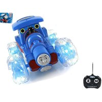 Thomas Train Chargeable Rc Stunt Car With LED Light