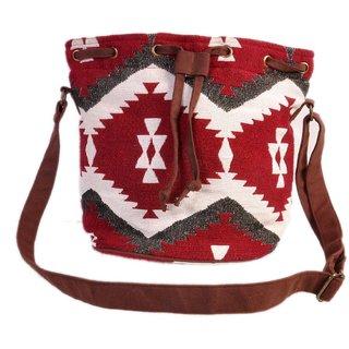Diwaah!! Jacquard Beautiful Jhola Bag