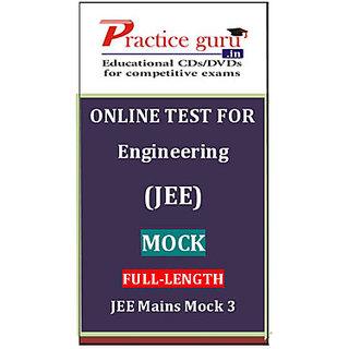 Jee Mains Mock 3 PGJEEFL003