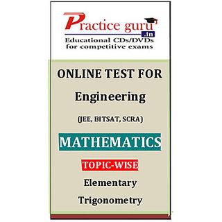 Elementary Trigonometry PGJEEM011