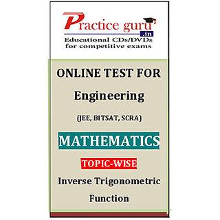 Inverse Trigonometric Function PGJEEM014