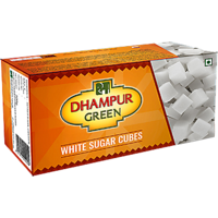 Dhampur Green Sugar Cubes 500 gm