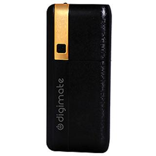 Digimate 12500 mAh Powerbank - Black  Golden